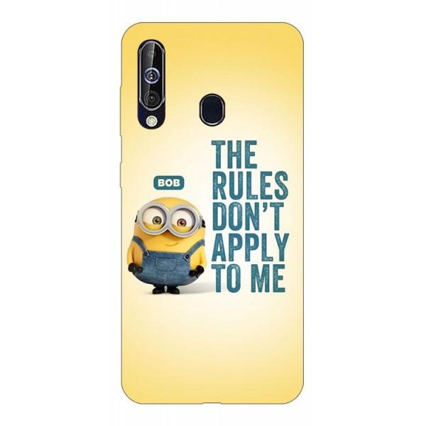Husa Silicon Soft Upzz Print Samsung Galaxy A60 Model Bob imagine itelmobile.ro 2021