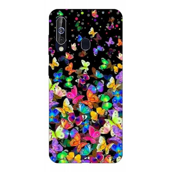 Husa Silicon Soft Upzz Print Samsung Galaxy A60 Model Colorature imagine itelmobile.ro 2021