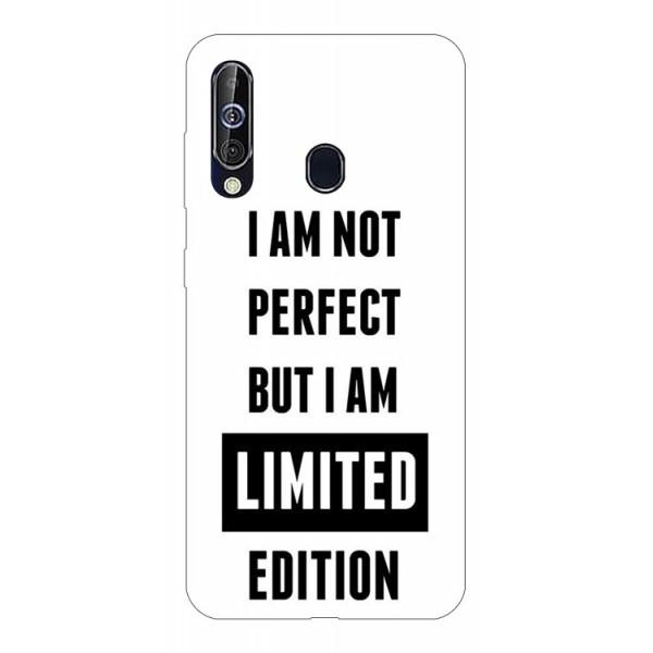 Husa Silicon Soft Upzz Print Samsung Galaxy A60 Model Limited Edition imagine itelmobile.ro 2021