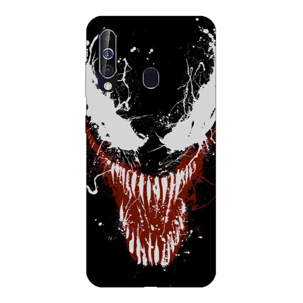 Husa Silicon Soft Upzz Print Samsung Galaxy A60 Model Monster imagine itelmobile.ro 2021