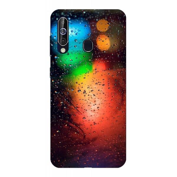 Husa Silicon Soft Upzz Print Samsung Galaxy A60 Model Multicolor imagine itelmobile.ro 2021