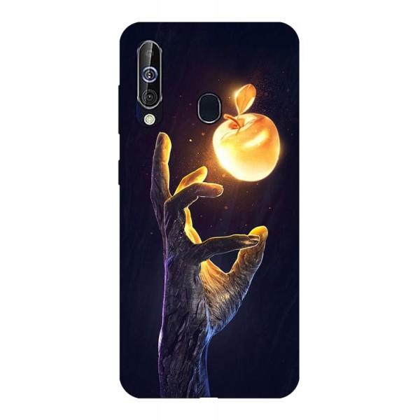 Husa Silicon Soft Upzz Print Samsung Galaxy A60 Model Reach imagine itelmobile.ro 2021