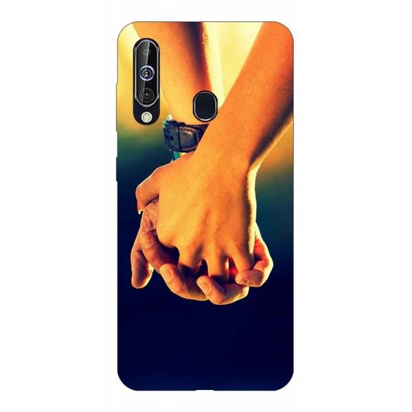 Husa Silicon Soft Upzz Print Samsung Galaxy A60 Model Together imagine itelmobile.ro 2021