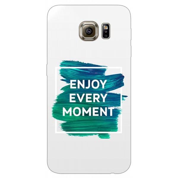 Husa Silicon Soft Upzz Print Samsung S6 Model Enjoy imagine itelmobile.ro 2021
