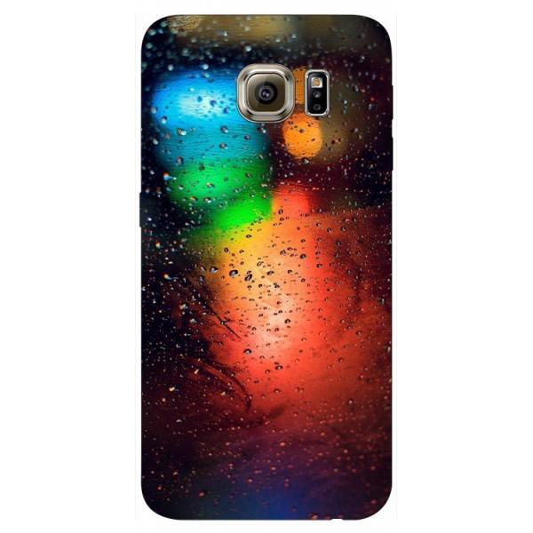Husa Silicon Soft Upzz Print Samsung S6 Model Multicolor imagine itelmobile.ro 2021