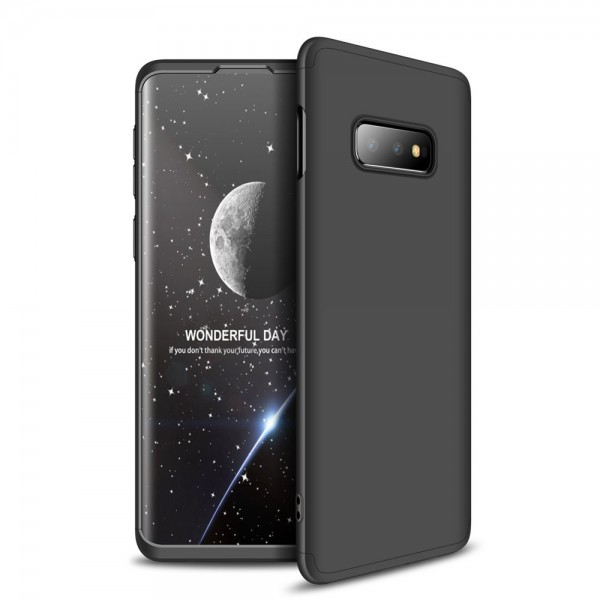 Husa 360 Grade Upzz Protection Samsung Galaxy S10e Negru imagine itelmobile.ro 2021
