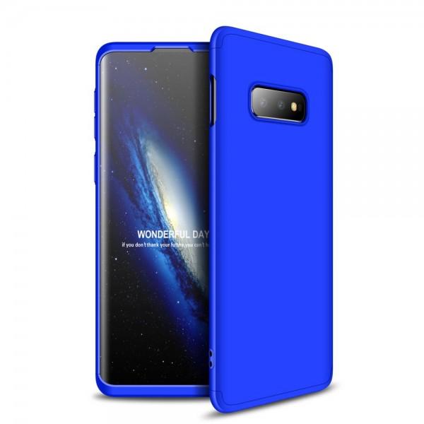 Husa 360 Grade Upzz Protection Samsung Galaxy S10e Albastru imagine itelmobile.ro 2021