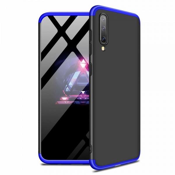 Husa 360 Grade Upzz Protection Samsung Galaxy A50 Negru Albastru imagine itelmobile.ro 2021