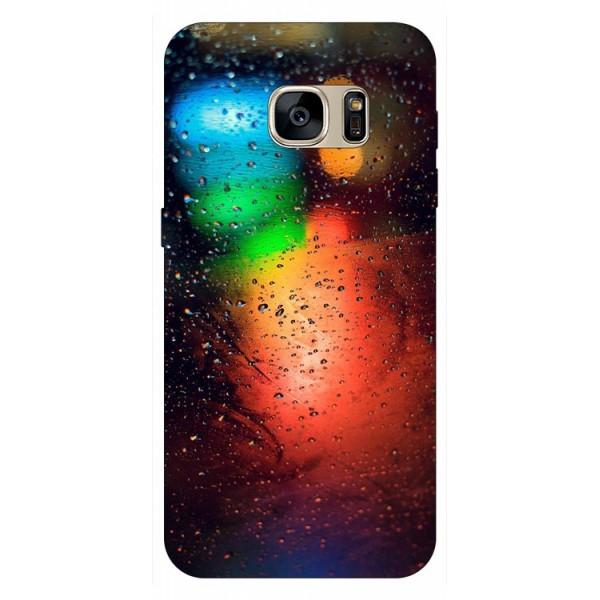 Husa Silicon Soft Upzz Print Samsung S7 Edge Model Multicolor imagine itelmobile.ro 2021