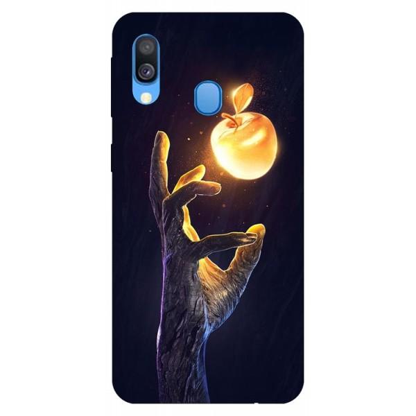 Husa Silicon Soft Upzz Print Samsung Galaxy A20e Model Reach imagine itelmobile.ro 2021