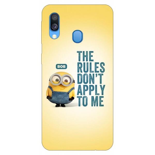 Husa Silicon Soft Upzz Print Samsung Galaxy A20e Model Bob imagine itelmobile.ro 2021