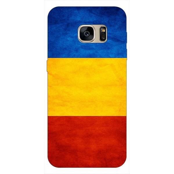 Husa Silicon Soft Upzz Print Samsung S7 Edge Model Tricolor imagine itelmobile.ro 2021