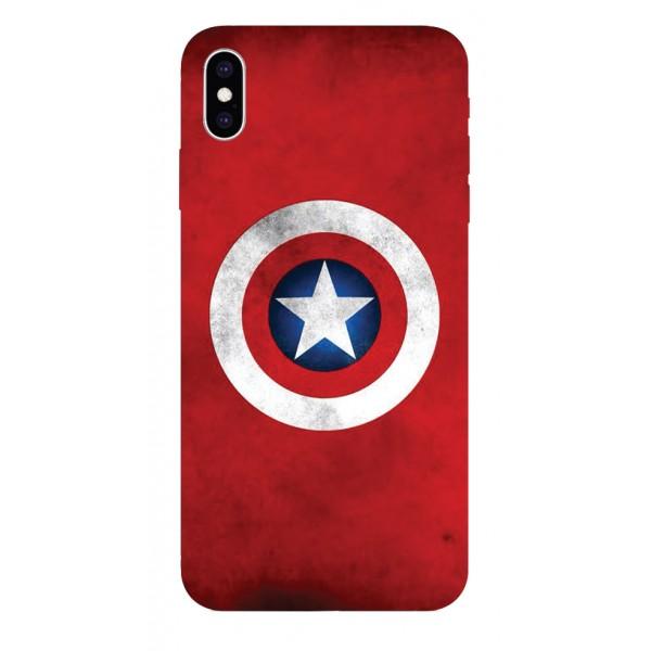 Husa Silicon Soft Upzz Print iPhone Xs Sau X Model Shield imagine itelmobile.ro 2021