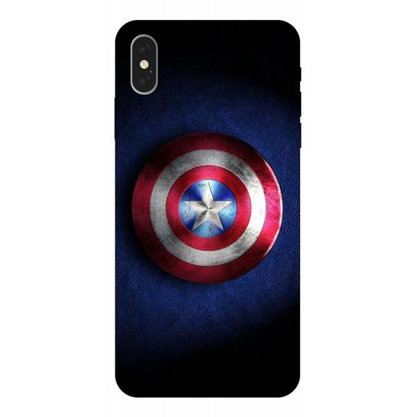 Husa Silicon Soft Upzz Print iPhone Xs Max Model Shield 1 imagine itelmobile.ro 2021