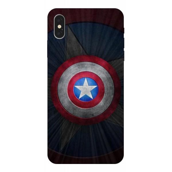 Husa Silicon Soft Upzz Print iPhone Xs Max Model Shield 2 imagine itelmobile.ro 2021