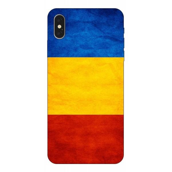 Husa Silicon Soft Upzz Print iPhone Xs Max Model Tricolor imagine itelmobile.ro 2021