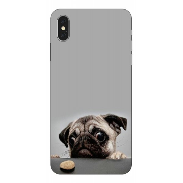 Husa Silicon Soft Upzz Print iPhone Xs Model Dog imagine itelmobile.ro 2021