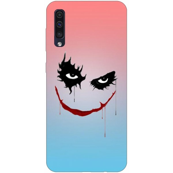 Husa Silicon Soft Upzz Print Samsung Galaxy A50 Model Joker imagine itelmobile.ro 2021