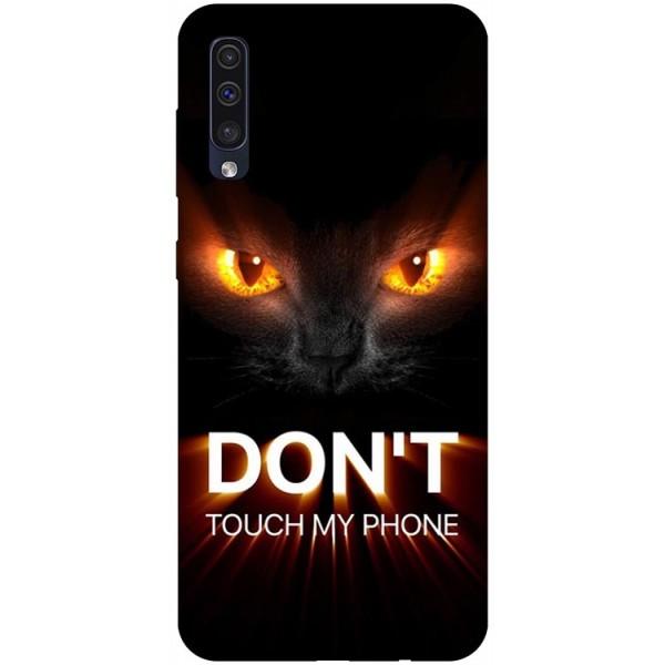 Husa Silicon Soft Upzz Print Samsung Galaxy A50 Model My Phone 1 imagine itelmobile.ro 2021