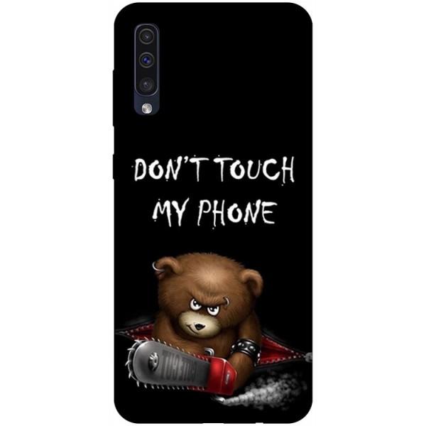 Husa Silicon Soft Upzz Print Samsung Galaxy A50 Model My Phone 2 imagine itelmobile.ro 2021