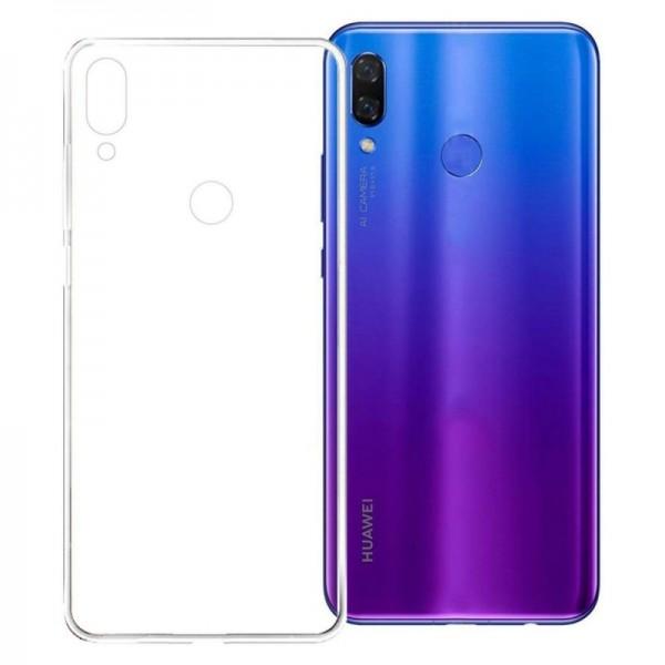 Husa Spate Silicon Ultra Slim Upzz Huawei P Smart Z Transparenta imagine itelmobile.ro 2021
