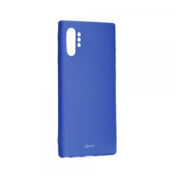 Husa Spate Roar Colorful Jelly Samsung Galaxy Note 10+ Plus Navy imagine itelmobile.ro 2021