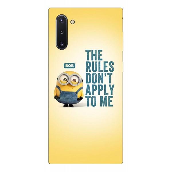 Husa Premium Upzz Print Samsung Galaxy Note 10 Model Bob imagine itelmobile.ro 2021