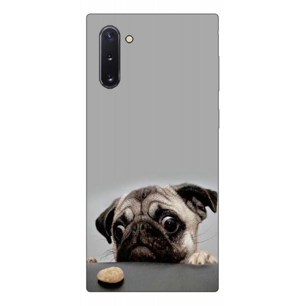 Husa Premium Upzz Print Samsung Galaxy Note 10 Model Dog imagine itelmobile.ro 2021