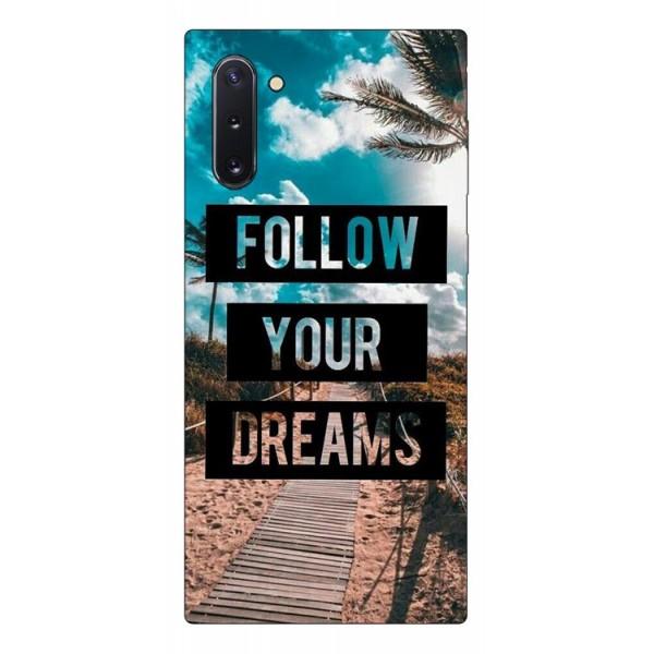 Husa Premium Upzz Print Samsung Galaxy Note 10 Model Dreams imagine itelmobile.ro 2021