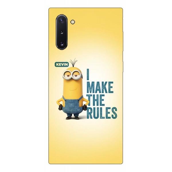 Husa Premium Upzz Print Samsung Galaxy Note 10 Model Kevin imagine itelmobile.ro 2021
