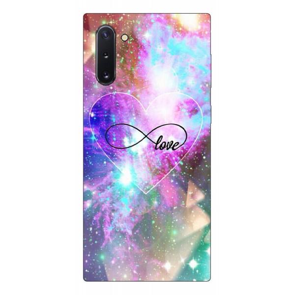 Husa Premium Upzz Print Samsung Galaxy Note 10 Model Neon Love imagine itelmobile.ro 2021