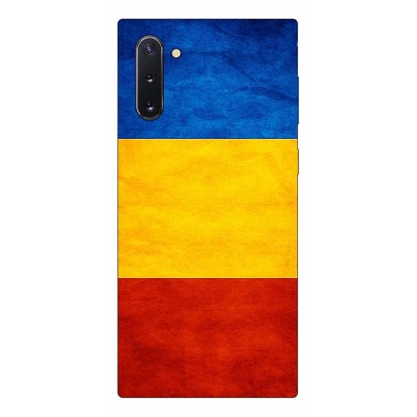 Husa Premium Upzz Print Samsung Galaxy Note 10 Model Tricolor imagine itelmobile.ro 2021