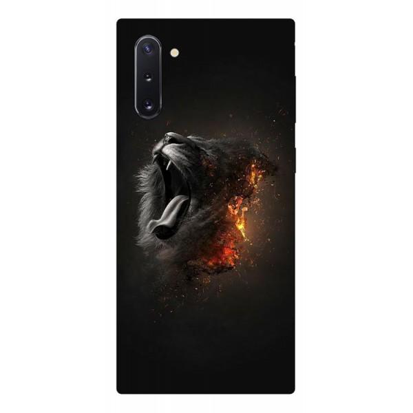 Husa Premium Upzz Print Samsung Galaxy Note 10 Model Lion imagine itelmobile.ro 2021