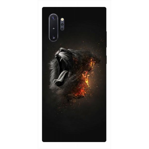 Husa Premium Upzz Print Samsung Galaxy Note 10+ Plus Model Lion imagine itelmobile.ro 2021