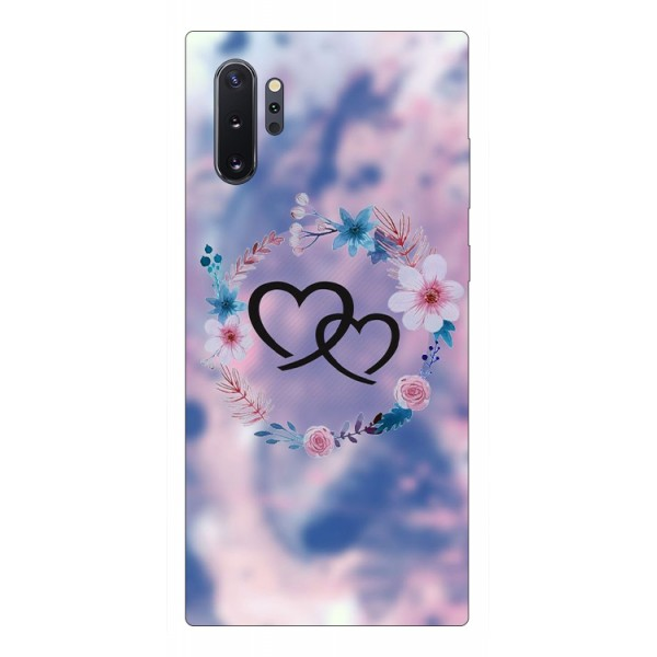 Husa Premium Upzz Print Samsung Galaxy Note 10+ Plus Model Love imagine itelmobile.ro 2021