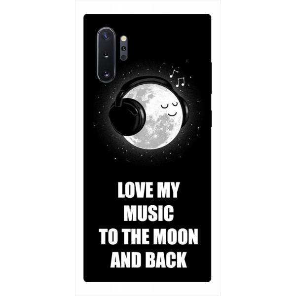 Husa Premium Upzz Print Samsung Galaxy Note 10+ Plus Model Music imagine itelmobile.ro 2021