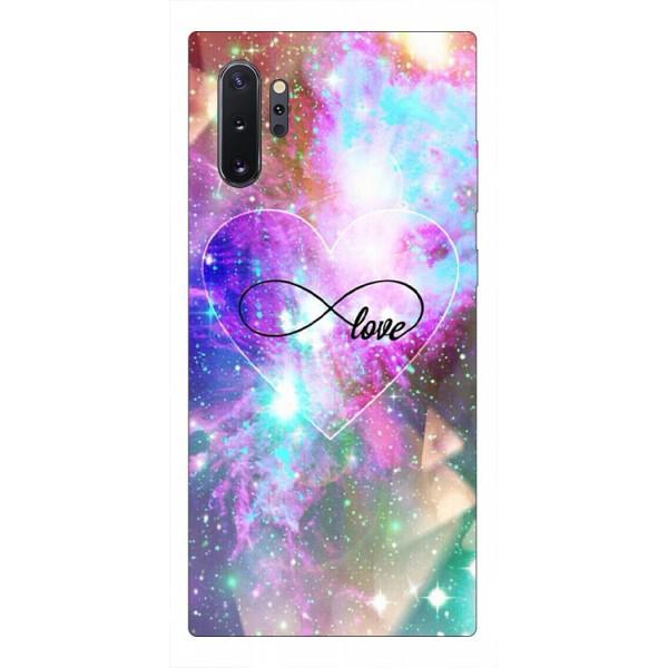 Husa Premium Upzz Print Samsung Galaxy Note 10+ Plus Model Neon Love imagine itelmobile.ro 2021