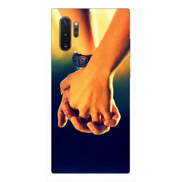 Husa Premium Upzz Print Samsung Galaxy Note 10+ Plus Model Together imagine itelmobile.ro 2021