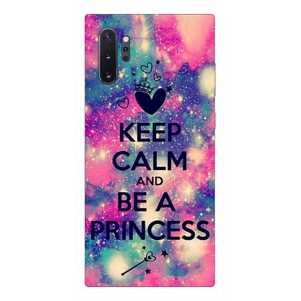 Husa Premium Upzz Print Samsung Galaxy Note 10+ Plus Model Be Princess imagine itelmobile.ro 2021