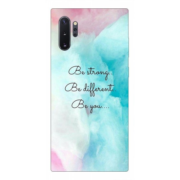 Husa Premium Upzz Print Samsung Galaxy Note 10+ Plus Model Be You imagine itelmobile.ro 2021
