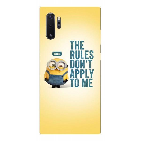 Husa Premium Upzz Print Samsung Galaxy Note 10+ Plus Model Bob imagine itelmobile.ro 2021