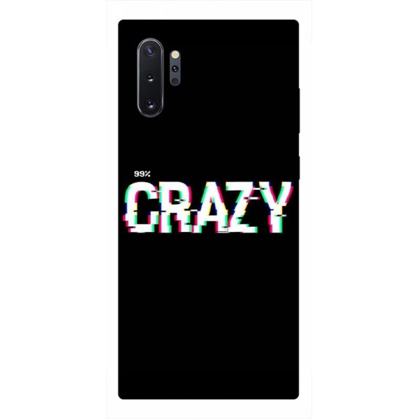 Husa Premium Upzz Print Samsung Galaxy Note 10+ Plus Model Crazy imagine itelmobile.ro 2021