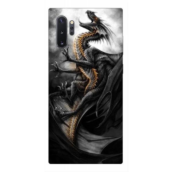 Husa Premium Upzz Print Samsung Galaxy Note 10+ Plus Model Dragon 1 imagine itelmobile.ro 2021