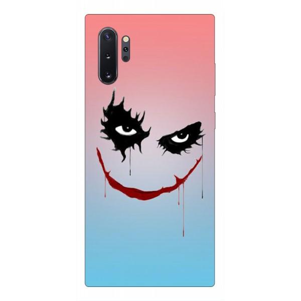 Husa Premium Upzz Print Samsung Galaxy Note 10+ Plus Model Joker imagine itelmobile.ro 2021