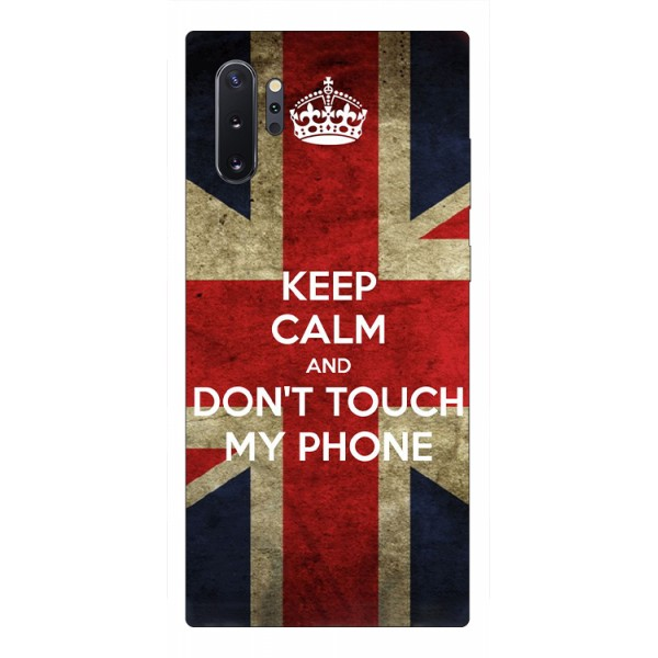 Husa Premium Upzz Print Samsung Galaxy Note 10+ Plus Model Keep Calm imagine itelmobile.ro 2021