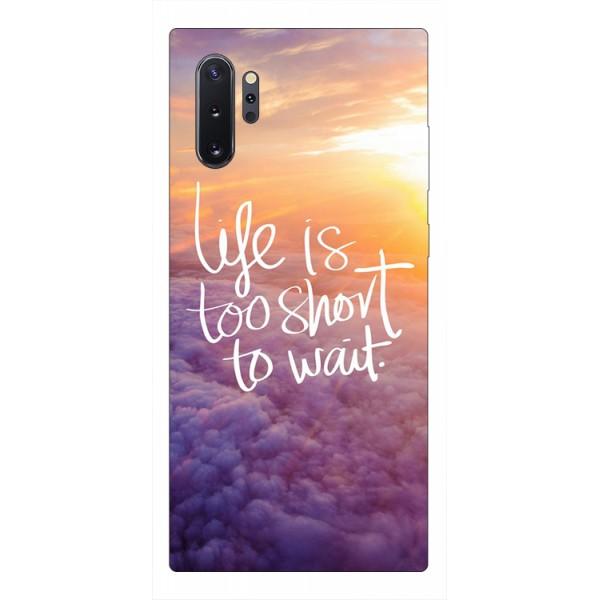 Husa Premium Upzz Print Samsung Galaxy Note 10+ Plus Model Life imagine itelmobile.ro 2021