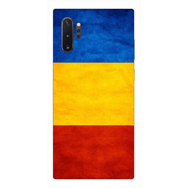 Husa Premium Upzz Print Samsung Galaxy Note 10+ Plus Model Tricolor imagine itelmobile.ro 2021