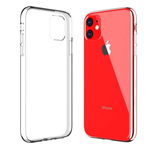 Husa Spate Silicon Ultra Slim Upzz Compatibil Cu iPhone 11 Transparenta imagine itelmobile.ro 2021