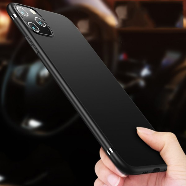 Husa Spate Upzz Ultra Slim Pro iPhone 11 Pro Negru Slim imagine itelmobile.ro 2021