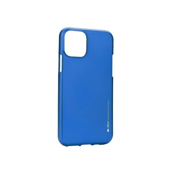 Husa Spate Mercury Jelly iPhone 11 Pro Max Albastru Navy imagine itelmobile.ro 2021